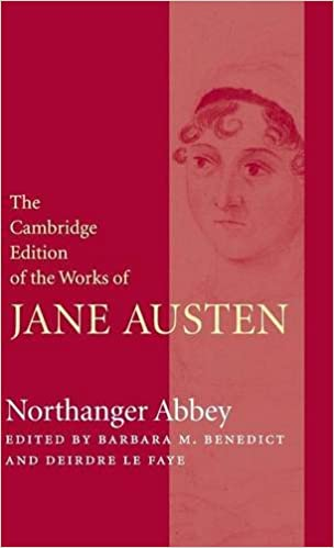 Northanger Abbey The Cambridge Edition Of The Works Of Jane Austen