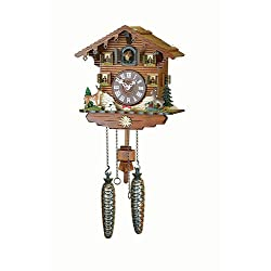 Trenkle Uhren Quartz Cuckoo Clock Swiss house TU 432 Q