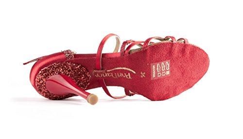Portdancepd800 Mujer Salón Pro Rojo De Portdance ZqIdw7Z
