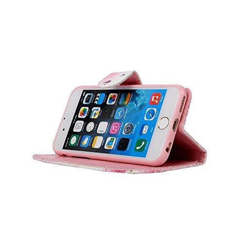 Funda Libro iphone 6 Plus PU Leather Cuero Suave Case -Sunroyal ® [Anti-Scratch] Ultra Slim Flip Carcasa Cover, Cierre Magnético, Función de Soporte,Billetera con Tapa para Tarjetas Caja del Teléfono  A-17
