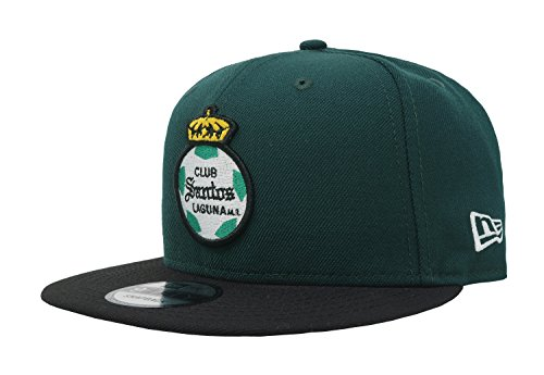 New Era 9Fifty Hat Santos Laguna Soccer Club Mx League Dark Green/Black Snapback