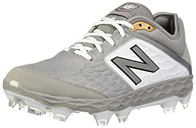 New Balance Mens 3000v4 Gray Size: 1.5 W US
