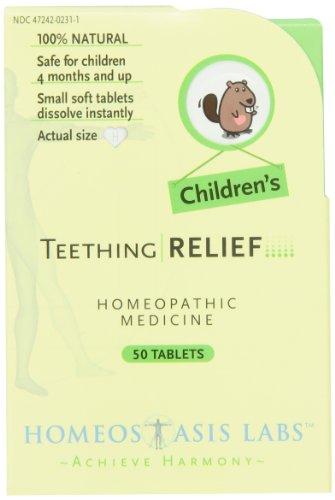 La dentition de secours de l'homéostasie Labs enfants, 50-Count