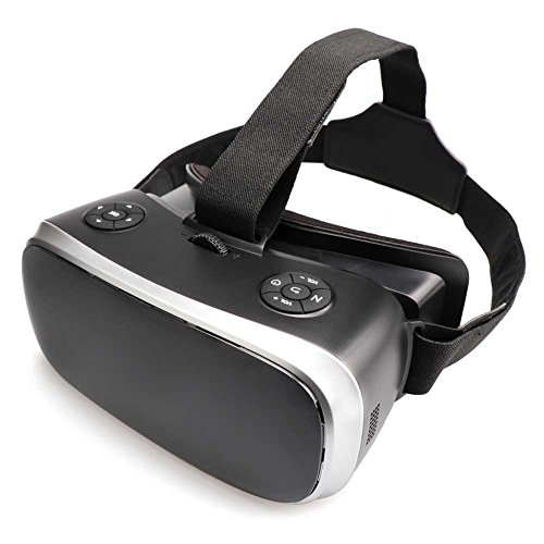 YFang 3D Glasses VR Headset Virtual Reality Headset for Android 5.1 3D VR Devices with WIFI and Bluetooth Resolution 2560 x 1440P Display 360 Degree View for PC PS4 Xbox Youtube Google Play (V3-01) by YFang