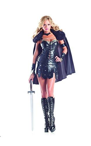 Adult Women's 6 Piece Sexy Warrior Princess Halloween
