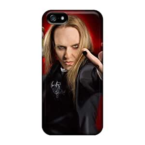 Bumper Cell-phone Hard Cover For Iphone 5/5s With Allow Personal Design Attractive Children Of Bodom Band Skin ChristopherWalsh
