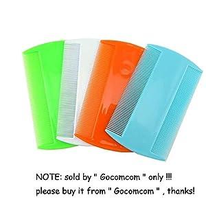 2. Honbay 4 Packs Flea Lice Combs