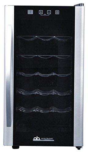 Avalon Bay AB-WINE18S Wine Fridge, 18 Bottle, Black/Silver by Avalon Bay (Image #6)