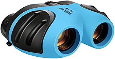LET'S GO! Binocular for Kids, Compact High Resolution Shockproof 8X Bird Watching Toys Perfect for Outdoor Hiking Games -...