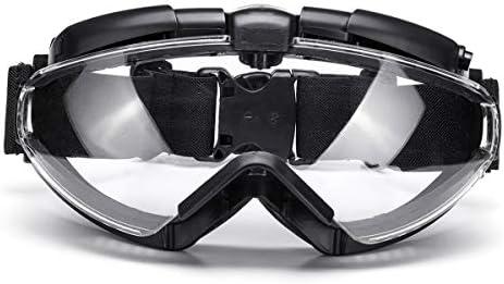 antivaho Militares con Ventilador Gafas de Seguridad con regulador de Fuga Antipolvo t/ácticas Airsoft