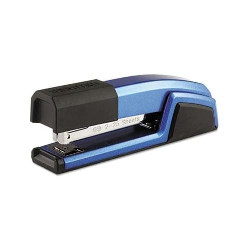 "Stanley Bostitch - Antimicrobial Full Strip Metal Stapler 25-Sheet Capacity Blue ""Product Category: Staplers & Punches/Staplers"""