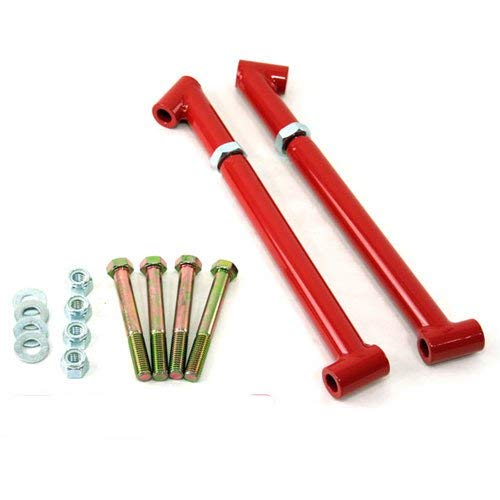 - UMI Performance 4029-R GM A-Body UMI Performance Control Arm Reinforcements Frame Braces - Red