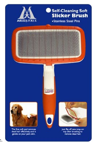 Millers Forge Self Cleaning Soft Slicker Brush by Millers Forge (Image #2)