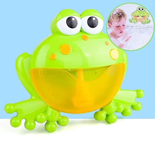 Musical Frog Baby Bath Toy Bubble Machine Bathtub Maker for Bath