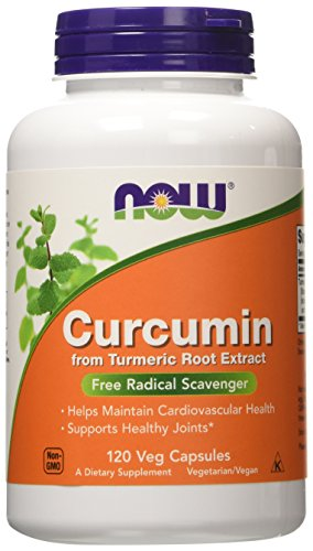 Curcumin Turmeric Root Extractract 95% - 120 Vcaps (Pack of Two) by Now Foods