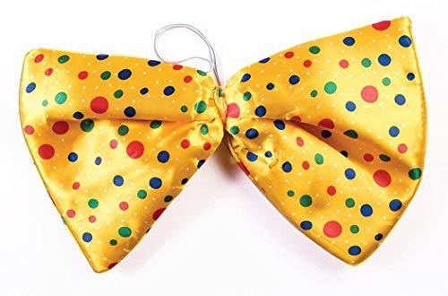 Forum Novelties Jumbo Clown Polka Dot Bow Tie Costume Accessory -