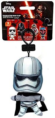 Star Wars - Plush Character Bag Clip - CAPTAIN PHASMA (5.5 inch)
