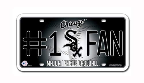 MLB Chicago White Sox #1 Fan Metal Tag