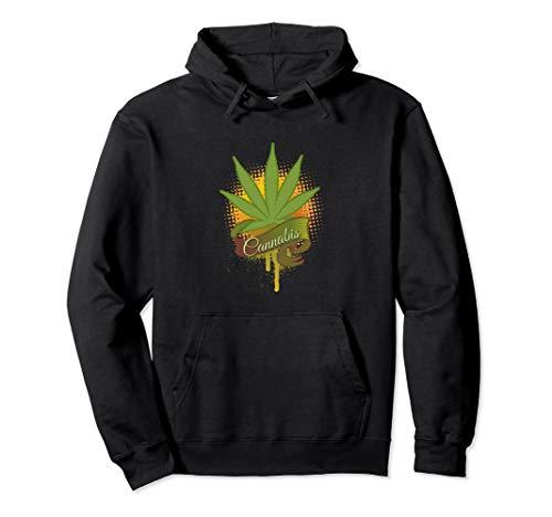 Cannabis Leaf Hoodie -