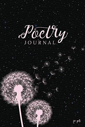 Poetry Journal for Girls: Blank and Lined Notebook (Poet Journals)