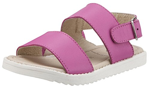 Shuk Sandals Fuchsia Soles Old Leather Girl's wABfWx