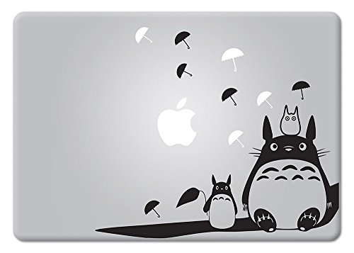 Totoro Studio Ghibli Apple Macbook Decal Vinyl Sticker Apple