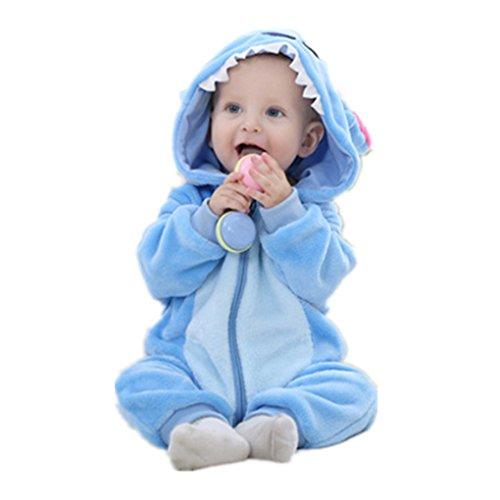 Cute Cartoon Baby Pajama Set Novelty Cotton