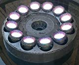 Super Bright LED Fountain Light Ring with 12x40 White LEDS