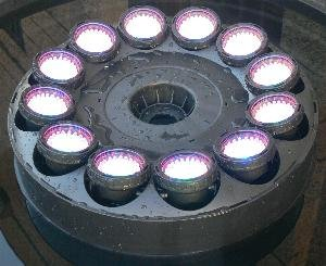 Amazon Com Super Bright Led Fountain Light Ring With
