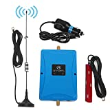 ANNTLENT 2G 3G 4G LTE Vehicle Cell Signal Booster - Dual Band Cellular Signal Booster 850 1700 2100MHz Amplifier Kit for Car & Truck