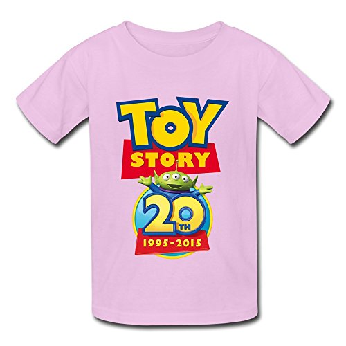 TBTJ Toy Story 20th Tshirts For Boys And Girls 6-24 Months Pink 12 (Toy Story Customes)