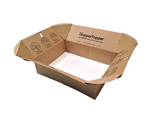 HopperTopper Lawn and Leaf Bag Funnel, 12 Units