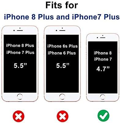 Amazon.com: KERZZIL iPhone 8 Plus Case, iPhone 7 Plus Case ...