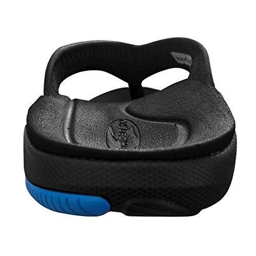 Stridetek Flipthotics Orthesen Sandalen - Arch Support, Metatarsale Riser & Heel Cup Verhindern Fußschmerzen