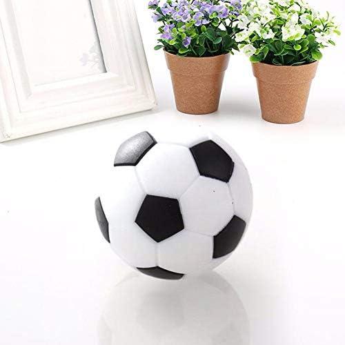 1PCS Tabla de fútbol balones de fútbol Juego Reemplazos plástico Mini Blanco y Negro Fútbol Foosballs bola: Amazon.es: Juguetes y juegos