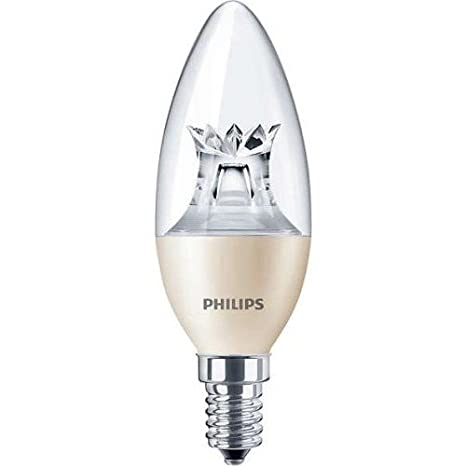 Philips 74182400 Lámpara LED, DT 6-40W E14 B38 CL: Amazon.es: Iluminación