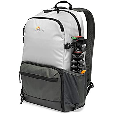 Lowepro LP37238-PWW Truckee 250 Outdoor Camera Backpack  Fits inch Tablet  for Compact DSLR Mirrorless  for Sony  Canon  Nikon  1-2 Lenses  Gimbal  Video Drone  DJI  Osmo  Mavic  Light Grey