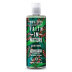 Faith in Nature Natural Aloe Vera Shampoo, 400ml