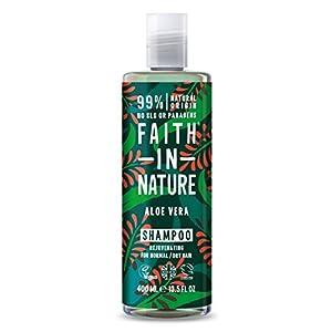 Faith In Nature Natural Aloe Vera Shampoo, Rejuven...