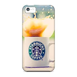 Faddish Phone Starbucks Case For Iphone 5c / Perfect Case Cover