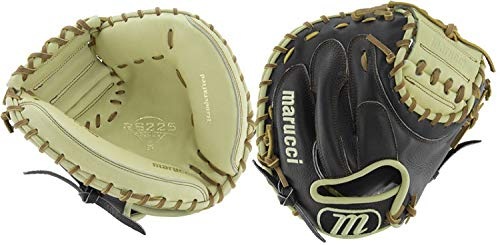 Marucci MFGRS315CM RS225 Series Baseball Fielding Gloves, Black/Mesa, 31.5''