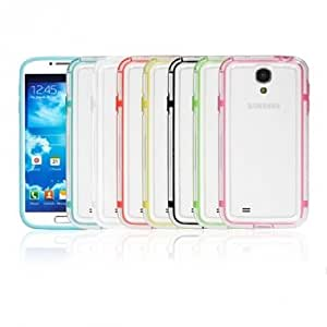 Colourful Frame Protective Case For Samsung Galaxy S4 i9500 --- Color:Green