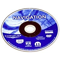 Chrysler Dodge Jeep NAVTEQ Navigation DVD OEM MOPAR GENUINE BRAND NEW