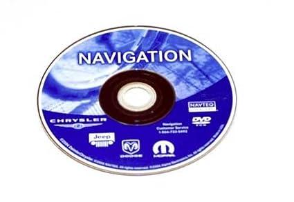 Amazon Chrysler Dodge Jeep NAVTEQ Navigation DVD OEM MOPAR