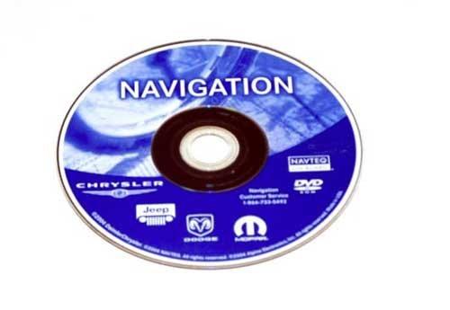 Chrysler Dodge NAVTEQ Navigation GENUINE