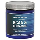 BodyTech BCAA Glutamine Supports Muscle Endurance, Growth Recovery with Essential Amino Acids (7.2...