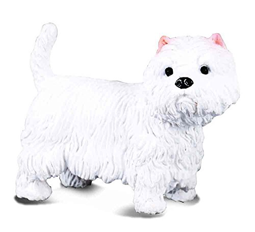 Miniature West Highland White Terrier - CollectA West Highland White Terrier