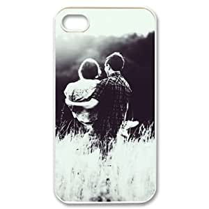 Lover Couple Princess Hold Case For iPhone 4/4s White by icecream design