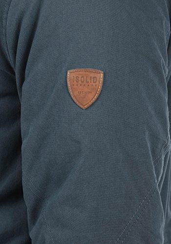 Vidage Colour Insignia Blue L Men's Solid 1991 Size Parka dHcydRU