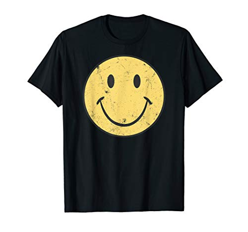 Retro 70s Smiley Face T-Shirt